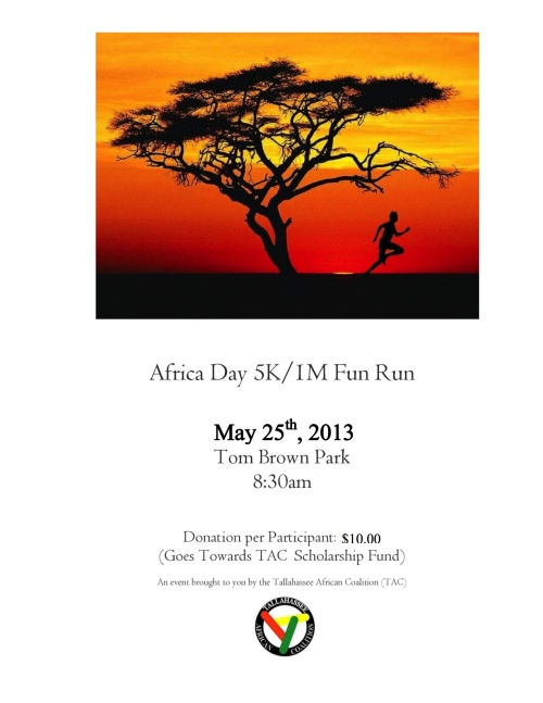 TAC Africa Day Flyer 2013