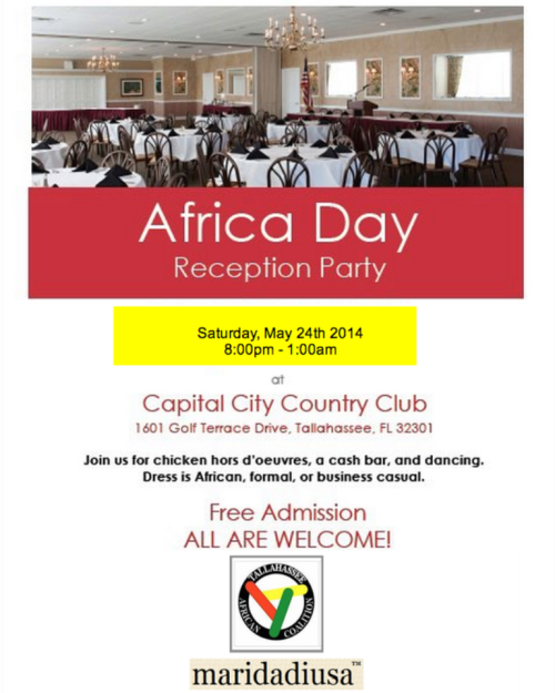 Africa Day Gala 2014