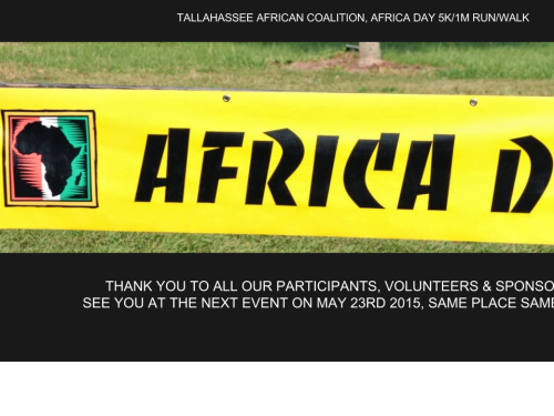 Africa Day Thank You